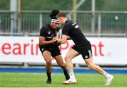 24 September 2018; Joe Tomane, left, and Garry Ringrose during Leinster Rugby Squad Training at Energia Park in Dublin. Photo by Sam Barnes/Sportsfile