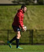 24 September 2018; JJ Hanrahan during Munster Rugby squad training at the University of Limerick in Limerick. Photo by Diarmuid Greene/Sportsfile
