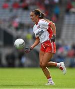 16 September 2018; Niamh Hughes of Tyrone during the TG4 All-Ireland Ladies Football Intermediate Championship Final match between Meath and Tyrone at Croke Park, Dublin. Photo by Piaras Ó Mídheach/Sportsfile