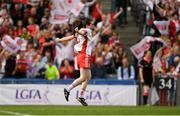 16 September 2018; Gráinne Rafferty of Tyrone celebrates after the TG4 All-Ireland Ladies Football Intermediate Championship Final match between Meath and Tyrone at Croke Park, Dublin. Photo by Piaras Ó Mídheach/Sportsfile