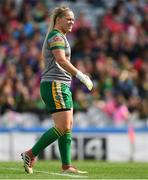 16 September 2018; Meath goalkeeper Monica McGuirk during the TG4 All-Ireland Ladies Football Intermediate Championship Final match between Meath and Tyrone at Croke Park, Dublin. Photo by Piaras Ó Mídheach/Sportsfile