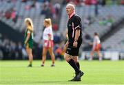 16 September 2018; Referee Gerry Carmody during the TG4 All-Ireland Ladies Football Intermediate Championship Final match between Meath and Tyrone at Croke Park, Dublin. Photo by Piaras Ó Mídheach/Sportsfile
