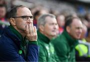 25 September 2018; Republic of Ireland & Celtic Legends manager Martin O'Neill during the Liam Miller Memorial match between Manchester United Legends and Republic of Ireland & Celtic Legends at Páirc Uí Chaoimh in Cork. Photo by Stephen McCarthy/Sportsfile