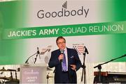 24 September 2018; George Hamilton during the Goodbody Jackie's Army Squad Reunion at The K Club, Straffan, in Co. Kildare. Photo by Eóin Noonan/Sportsfile