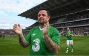 25 September 2018; Andy Reid of Republic of Ireland & Celtic Legends following the Liam Miller Memorial match between Manchester United Legends and Republic of Ireland & Celtic Legends at Páirc Uí Chaoimh in Cork. Photo by David Fitzgerald/Sportsfile