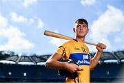 27 September 2018; The Fenway Hurling Classic 2018 will see All-Ireland hurling champions Limerick, reigning holders of the Players' Champions Cup Clare, and new contenders Cork and Wexford competing in the Super 11s format tournament. The tournament takes place on Sunday November 18th, at the iconic Fenway Park, home of the Boston Red Sox. Pictured is Peter Duggan of Clare during the Fenway Hurling Classic 2018 Launch at Croke Park, in Dublin. Photo by Sam Barnes/Sportsfile