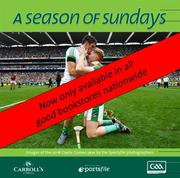 Now in its twenty-second year of publication, A Season of Sundays 2018 embraces the very heart and soul of Ireland's national games as captured by the award winning team of photographers at Sportsfile. With text by Alan Milton, it is a treasured record of the 2018 GAA season to be savoured and enjoyed by players, spectators and enthusiasts everywhere. Please note that deliveries will commence mid November