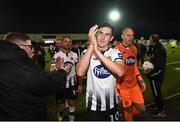 28 September 2018; Jamie McGrath of Dundalk following the Irish Daily Mail FAI Cup Semi-Final match between Dundalk and UCD at Oriel Park in Dundalk, Co Louth. Photo by Stephen McCarthy/Sportsfile