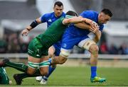 29 September 2018; Jack Conan of Leinster is tackled by Robin Copeland of Connacht during the Guinness PRO14 Round 5 match between Connacht and Leinster at The Sportsground in Galway. Photo by Brendan Moran/Sportsfile
