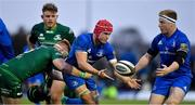 29 September 2018; Josh van der Flier of Leinster offloads to team-mate James Tracy as he is tackled by Sean O'Brien of Connacht during the Guinness PRO14 Round 5 match between Connacht and Leinster at The Sportsground in Galway. Photo by Brendan Moran/Sportsfile