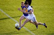 30 September 2018; Diarmuid Connolly of St. Vincent's in action against Tom Shields of Castleknock during the Dublin County Senior Club Football Championship Quarter-Final match between St Vincent's and Castleknock at Parnell Park in Dublin. Photo by Harry Murphy/Sportsfile