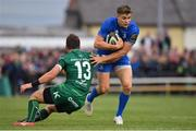 29 September 2018; Garry Ringrose of Leinster is tackled by Tom Farrell of Connacht during the Guinness PRO14 Round 5 match between Connacht and Leinster at The Sportsground in Galway. Photo by Brendan Moran/Sportsfile