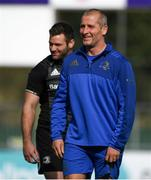 1 October 2018; Senior coach Stuart Lancaster during Leinster Rugby squad training at Energia Park in Dublin. Photo by David Fitzgerald/Sportsfile