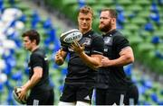 5 October 2018; Josh van der Flier during the Leinster Rugby captains run at the Aviva Stadium in Dublin. Photo by Ramsey Cardy/Sportsfile