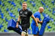 5 October 2018; Dan Leavy during the Leinster Rugby captains run at the Aviva Stadium in Dublin. Photo by Ramsey Cardy/Sportsfile