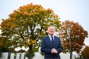 5 October 2018; Republic of Ireland U21 manager Noel King poses for a portrait following a squad announcement at the FAI National Training Centre in Abbotstown, Dublin. Photo by David Fitzgerald/Sportsfile