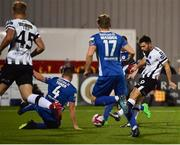 5 October 2018; Patrick Hoban of Dundalk scores his side's first goal during the SSE Airtricity League Premier Division match between Dundalk and St Patrick's Athletic at Oriel Park, Dundalk, in Louth. Photo by David Fitzgerald/Sportsfile