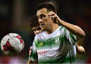 5 October 2018; Aaron Greene of Shamrock Rovers during the SSE Airtricity League Premier Division match between Shamrock Rovers and Cork City Tallaght Stadium, Dublin. Photo by Matt Browne/Sportsfile