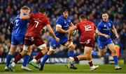 6 October 2018; Seán O'Brien of Leinster during the Guinness PRO14 Round 6 match between Leinster and Munster at the Aviva Stadium in Dublin. Photo by Ramsey Cardy/Sportsfile