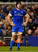 6 October 2018; Seán O'Brien of Leinster during the Guinness PRO14 Round 6 match between Leinster and Munster at the Aviva Stadium in Dublin. Photo by Seb Daly/Sportsfile