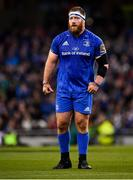 6 October 2018; Michael Bent of Leinster during the Guinness PRO14 Round 6 match between Leinster and Munster at the Aviva Stadium in Dublin. Photo by Seb Daly/Sportsfile