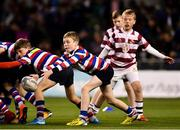 6 October 2018; Action between Tullow RFC and Kildare RFC during the Bank of Ireland Half-Time Minis at the Guinness PRO14 Round 6 match between Leinster and Munster at the Aviva Stadium in Dublin. Photo by Seb Daly/Sportsfile