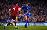 6 October 2018; Ross Byrne of Leinster during the Guinness PRO14 Round 6 match between Leinster and Munster at the Aviva Stadium in Dublin. Photo by Ramsey Cardy/Sportsfile