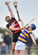 7 October 2018; Wayne Hutchinson of Ballygunner in action against John Hurney of Abbeyside during the Waterford County Senior Club Hurling Championship Final match between Abbeyside and Ballygunner at Fraher Field in Dungarvan, Co Waterford. Photo by Matt Browne/Sportsfile