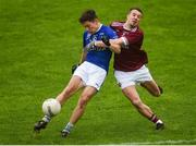7 October 2018; Frank Maguire of Scotstown in action against Ryan Wylie of Ballybay during the Monaghan County Senior Club Football Championship Final match between Scotstown and Ballybay Pearse Brothers at St Tiernach's Park in Clones, Co Monaghan. Photo by Philip Fitzpatrick/Sportsfile