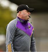 7 October 2018; Kilmacud Crokes manager Anthony Daly ahead of the Dublin County Senior Club Hurling Championship semi-final match between Kilmacud Crokes and Cuala at Parnell Park in Dublin. Photo by Daire Brennan/Sportsfile