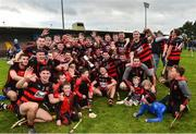 7 October 2018; The Ballygunner team celebrate winning five in a row after the Waterford County Senior Club Hurling Championship Final match between Abbeyside and Ballygunner at Fraher Field in Dungarvan, Co Waterford. Photo by Matt Browne/Sportsfile