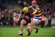 7 October 2018; Conor Power of Ballygunner in action against John Elsted of Abbeyside during the Waterford County Senior Club Hurling Championship Final match between Abbeyside and Ballygunner at Fraher Field in Dungarvan, Co Waterford. Photo by Matt Browne/Sportsfile
