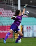7 October 2018; Sophie Lenehan of Wexford Youths WFC saves a penalty in a penalty shoot-out during the Continental Tyres Women's National League Development Shield Final match between Cork City FC and Wexford Youths WFC at Turner's Cross in Cork. Photo by Seb Daly/Sportsfile