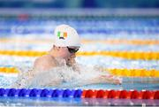 7 October 2018; Niamh Coyne of Team Ireland, from Tallaght, Dublin during the women's 50m breaststroke semi final event in the aquatic centre at the Youth Olympic Park, on Day 1 of the Youth Olympic Games in Buenos Aires, Argentina. Photo by Eóin Noonan/Sportsfile