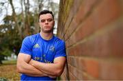 8 October 2018; James Ryan poses for a portrait following a Leinster Rugby press conference at Leinster Rugby Headquarters in Dublin. Photo by Ramsey Cardy/Sportsfile