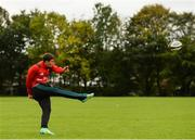 8 October 2018; Ian Keatley during Munster Rugby squad training at the University of Limerick in Limerick. Photo by Diarmuid Greene/Sportsfile