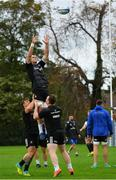 8 October 2018; James Ryan during Leinster Rugby squad training at UCD in Dublin. Photo by Ramsey Cardy/Sportsfile