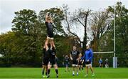 8 October 2018; Josh van der Flier during Leinster Rugby squad training at UCD in Dublin. Photo by Ramsey Cardy/Sportsfile