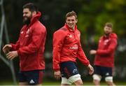 8 October 2018; Tommy O'Donnell during Munster Rugby squad training at the University of Limerick in Limerick. Photo by Diarmuid Greene/Sportsfile