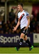 8 October 2018; Ian Morris of Bohemians celebrates after scoring his side's first goal during the Irish Daily Mail FAI Cup Semi-Final Replay match between Cork City and Bohemians at Turner's Cross in Cork. Photo by Harry Murphy/Sportsfile