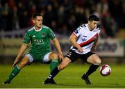 8 October 2018; Kevin Devaney of Bohemians in action against Conor McCarthy of Cork City during the Irish Daily Mail FAI Cup Semi-Final Replay match between Cork City and Bohemians at Turner's Cross in Cork. Photo by Harry Murphy/Sportsfile