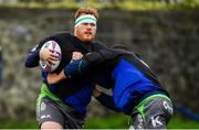 9 October 2018; Conor Carey during Connacht Rugby squad training at The Sportsground in Galway. Photo by Sam Barnes/Sportsfile