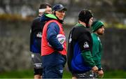 9 October 2018; Connacht Head Coach Andy Friend during Connacht Rugby squad training at The Sportsground in Galway. Photo by Sam Barnes/Sportsfile