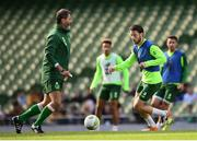 9 October 2018; Harry Arter during a Republic of Ireland training session at the Aviva Stadium in Dublin. Photo by Stephen McCarthy/Sportsfile