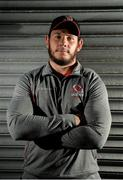 9 October 2018; Marcell Coetzee poses for a portrait following an Ulster Rugby press conference at Kingspan Stadium in Belfast. Photo by Oliver McVeigh/Sportsfile
