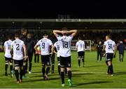 8 October 2018; Ian Morris of Bohemians and teammates look dejected following the Irish Daily Mail FAI Cup Semi-Final Replay match between Cork City and Bohemians at Turner's Cross in Cork. Photo by Harry Murphy/Sportsfile