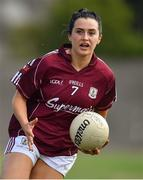 21 July 2018; Charlotte Cooney of Galway during the TG4 All-Ireland Senior Championship Group 3 Round 2 match between Galway and Waterford at St Brendan's Park in Birr, Co. Offaly.  Photo by Brendan Moran/Sportsfile