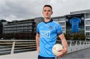 11 October 2018; Dublin star Brian Fenton was on hand today to help Dublin GAA and sponsors AIG Insurance to officially launch the new Dublin jersey at AIG's head office in Dublin.  Photo by Sam Barnes/Sportsfile