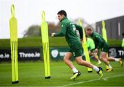 12 October 2018; John Egan during a Republic of Ireland training session at the FAI National Training Centre in Abbotstown, Dublin. Photo by Stephen McCarthy/Sportsfile