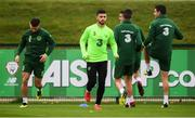 12 October 2018; Shane Long during a Republic of Ireland training session at the FAI National Training Centre in Abbotstown, Dublin. Photo by Stephen McCarthy/Sportsfile